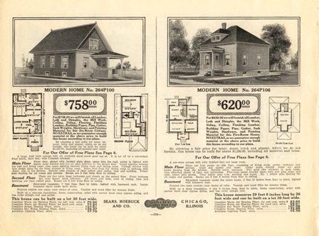 1914 Sears Modern Homes Catalog On Cd The Rarest Sears